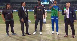 PSL5, Multan Sultans, Peshawar Zalmi, Toss, Shan Masood