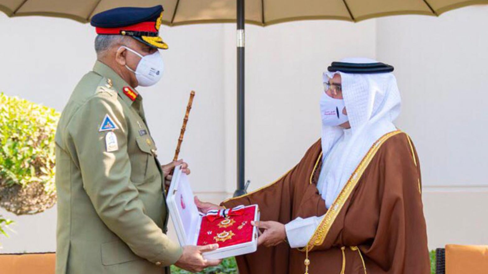 Bahrain presents top military award to Pakistan army chief