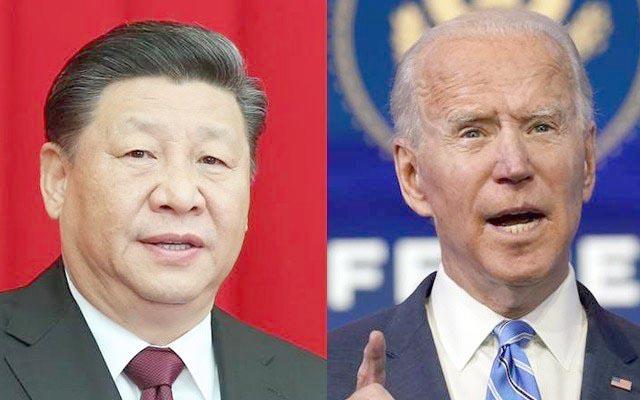 US and China face