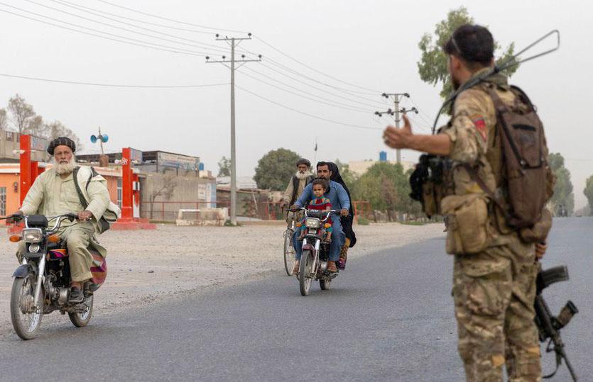 طالبان کاپاکستان سے متصل سرحد پر قبضہ