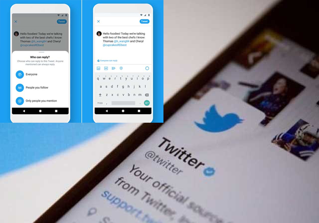 Twitter introduces new reply control