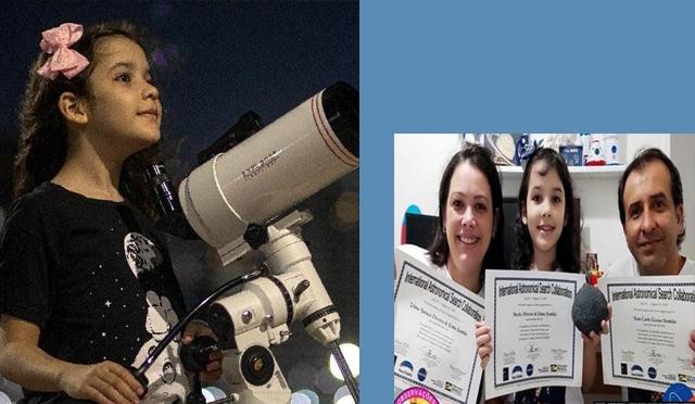 Brazilian girl discovers 18 asteroids